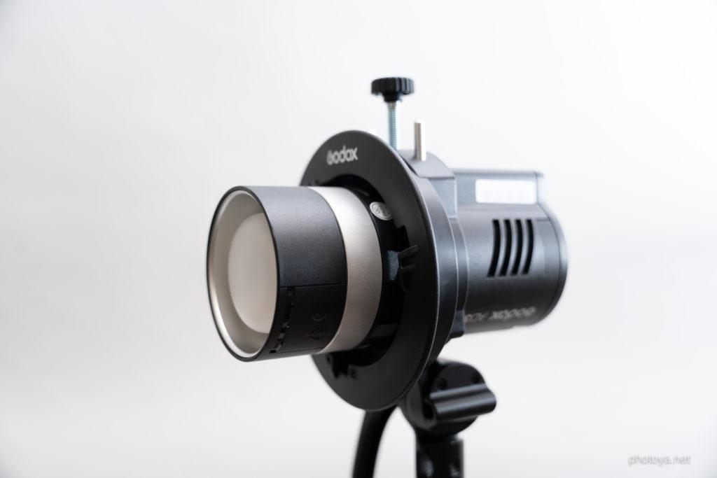 Godox AD300Pro S2ブラケットマウント ズーミング