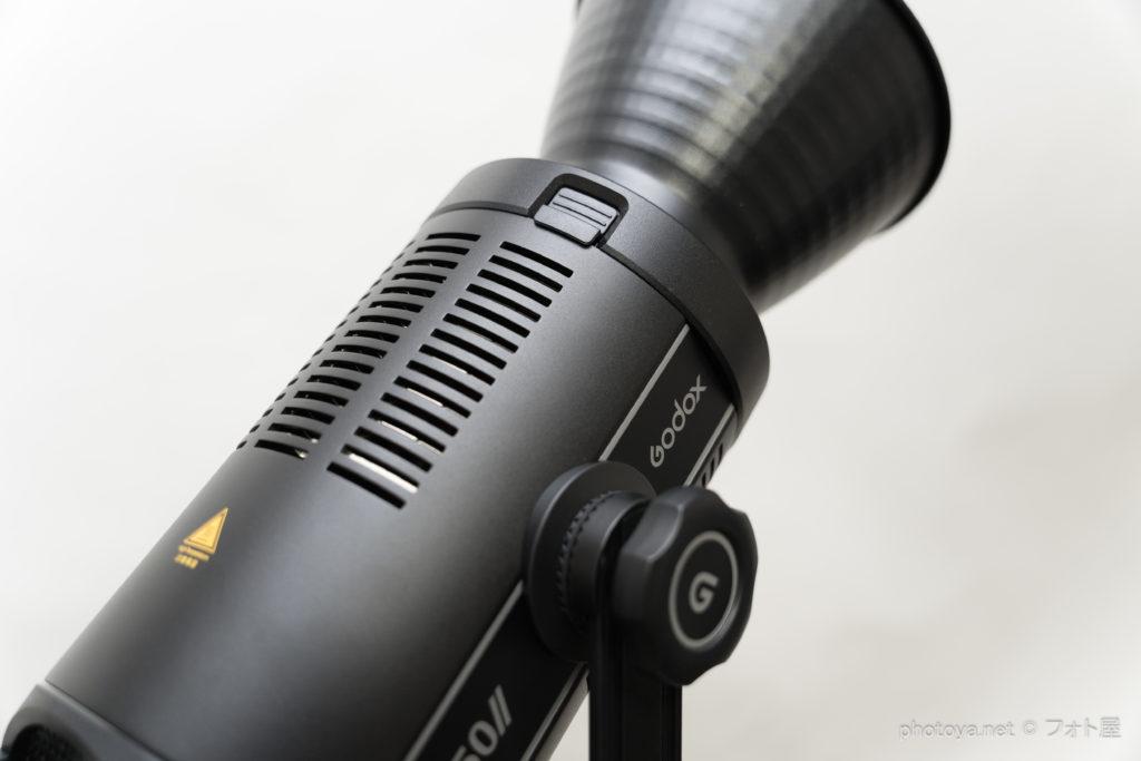 Godox SL150wⅠⅠ 排熱スリット
