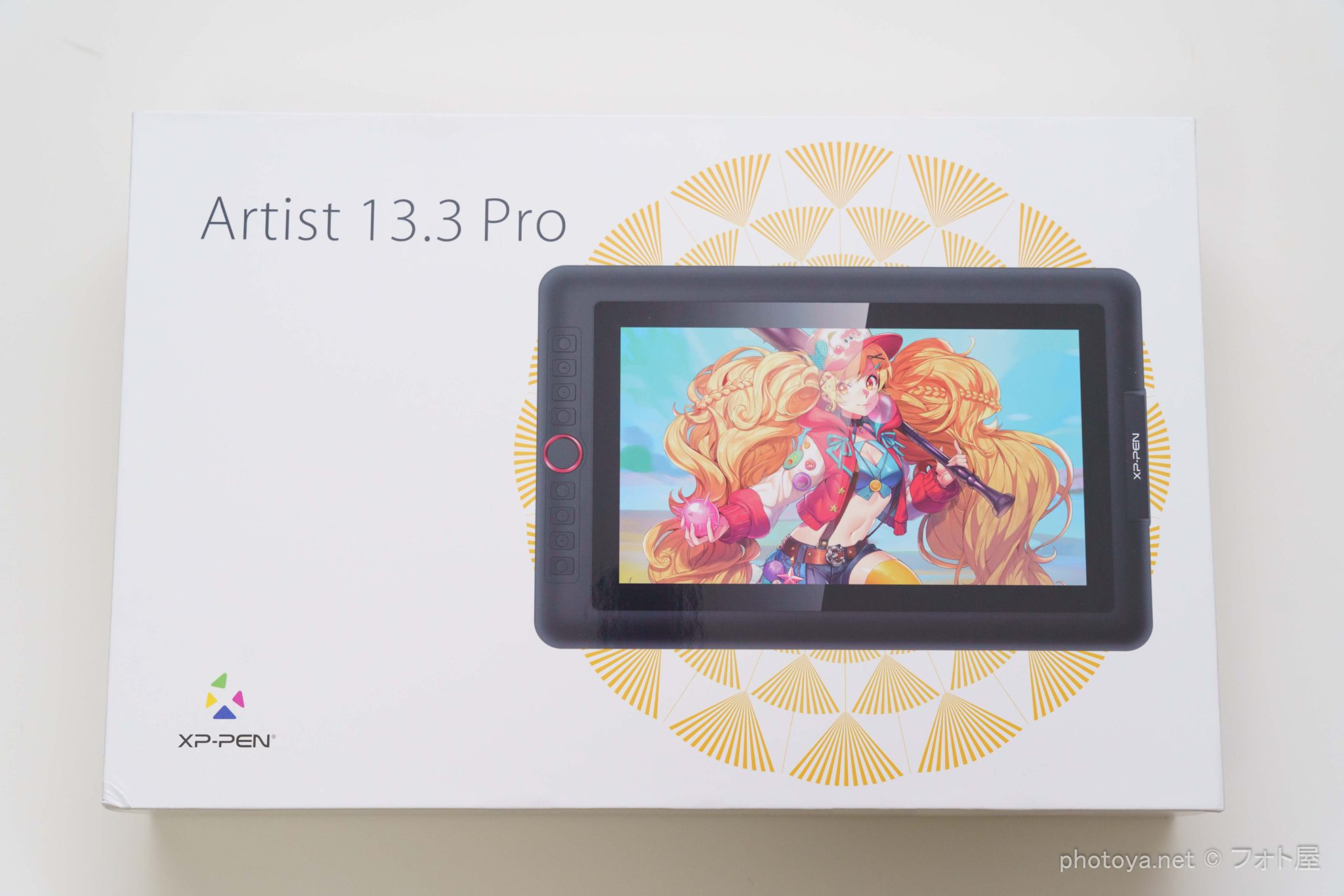 XP-PEN Artist Pro 箱